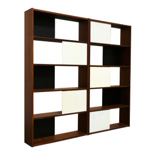 Hinged Bookcase by Evans Clark