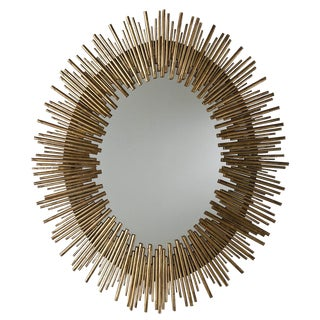 Prescott Oval Sunburst Mirror