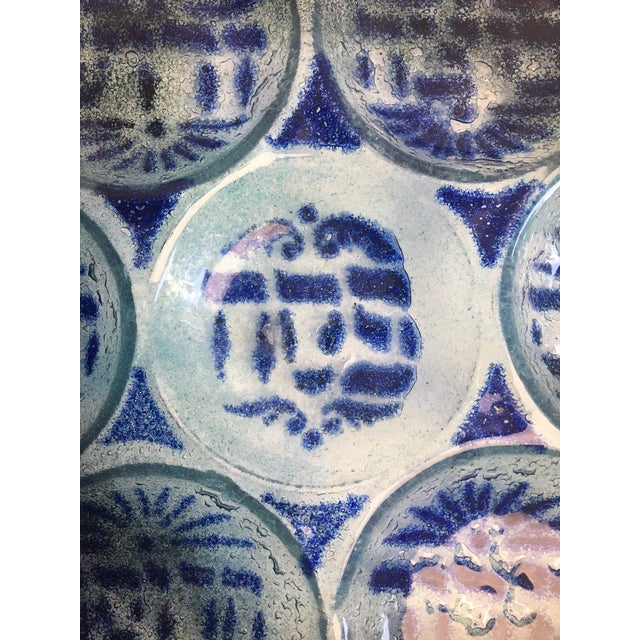 Art Glass Passover Seder Plate | Chairish