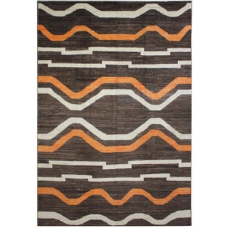 "Hand Knotted Navajo Rug by Aara Rugs - 11'8"" x 9'4"""