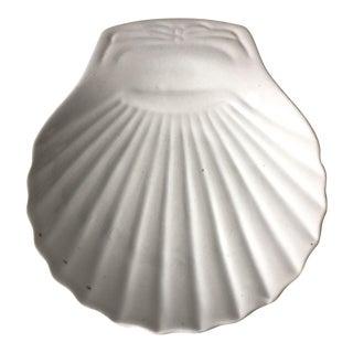 Antique English Ironstone Shell Dish
