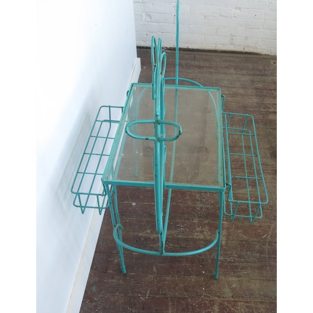 Frederick Weinberg Side Table Bar Cart - Image 6 of 7