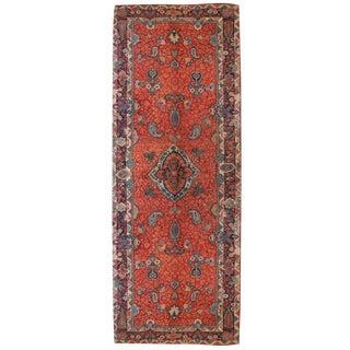 "Early 20th Century Persian Sarouk Carpet Runner - 5'8"" x 17'"