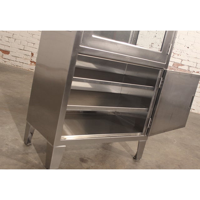 Stainless Steel Lit Medical Cabinet - Image 5 of 9