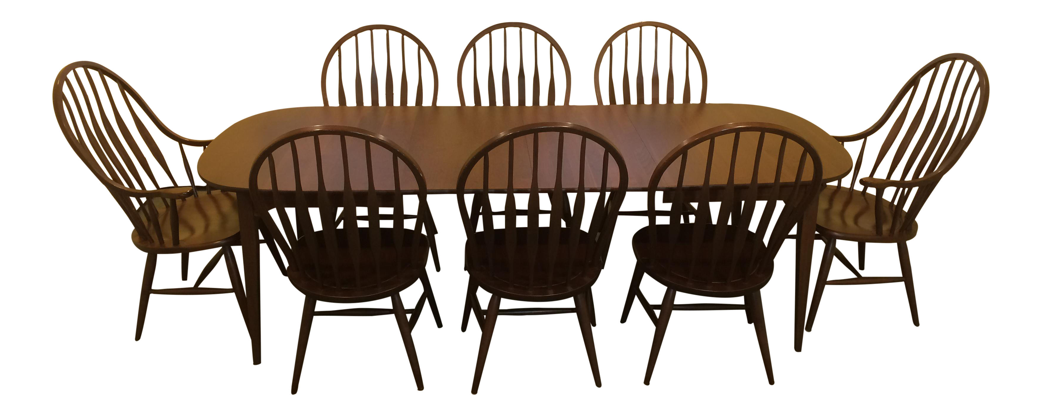 S. Bent Bros. Solid Cherry Dining Set