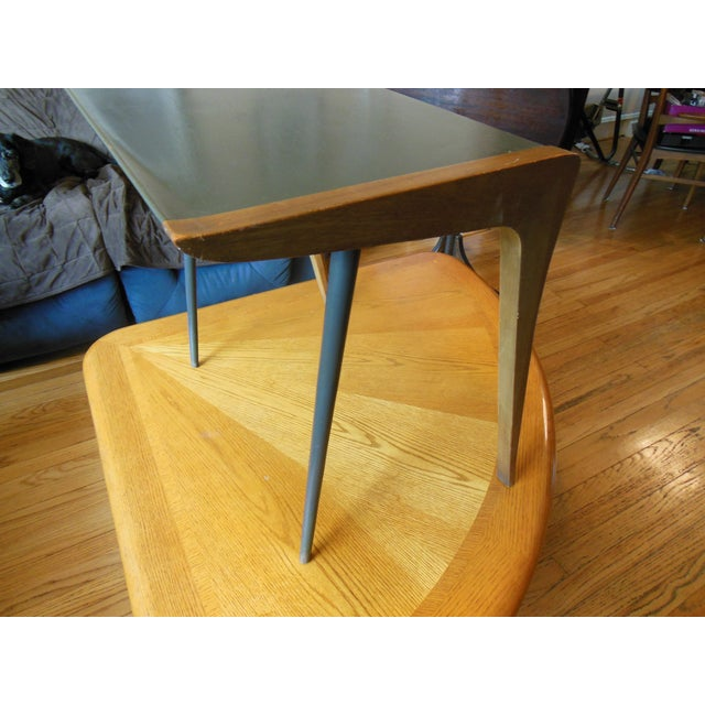 Mid-Century Two Toned Side Table - Image 4 of 5