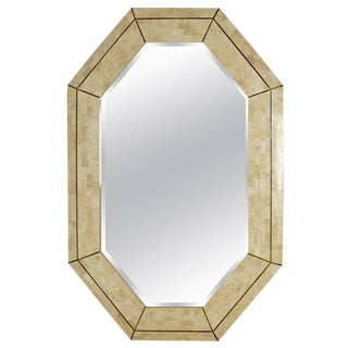 Maitland Smith Tesselated Marble Mirror