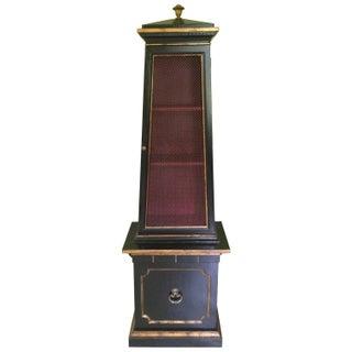 Obelisk Shaped Custom Cabinet