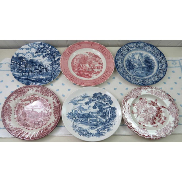 Mismatched Ironstone China Set, Service for 6 - Image 5 of 11