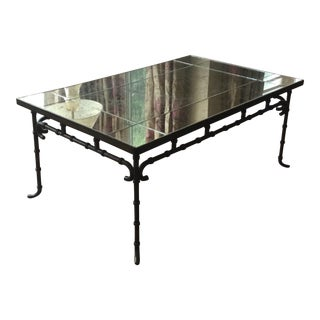 Baker Furniture Chinoiserie Cocktail Table