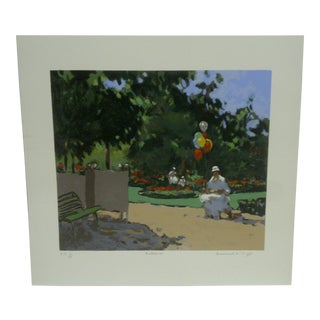"Frederick McDuff ""Balloons"" Limited Edition Print"
