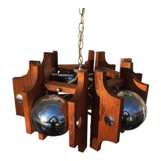 George Kovacs Chrome Eyeball Chandelier