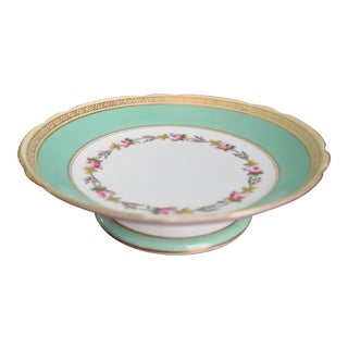 English Porcelain Tazza Bowl