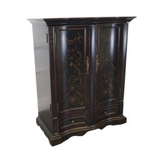 Hooker Furniture Seven Seas Black TV Armoire Cabinet