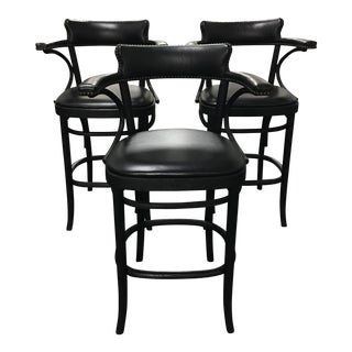 Restoration Hardware Vienna Cafe Barstools - Set of 3