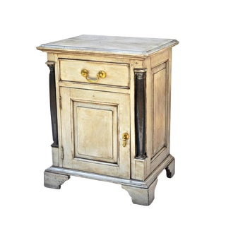 Painted Continental Nightstand