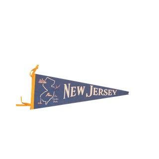 New Jersey Garden State Felt Flag