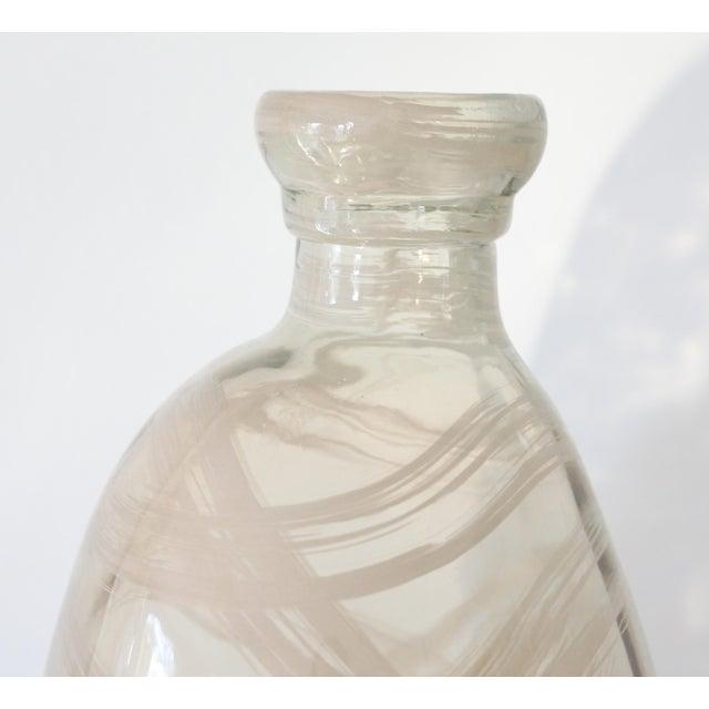 Oversize Modern Art Glass Demijohn - Image 4 of 6