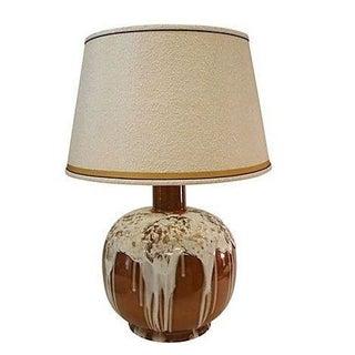 Creamy White Marshmallow Drip Glaze Lamp