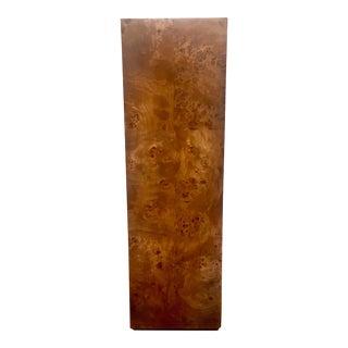 Vintage Burlwood Pedestal
