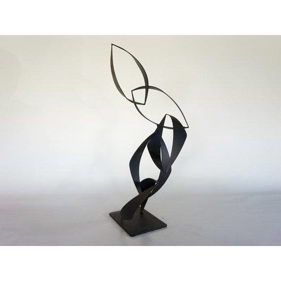 Maurizio Tempestini Style Iron Sculpture - Image 3 of 6