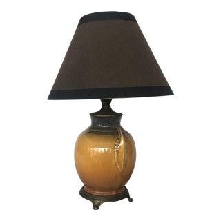 Vintage Roseville Lamp