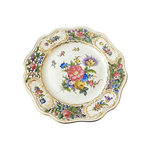 19th-C. Dresden Cabinet Plate - Image 5 of 7