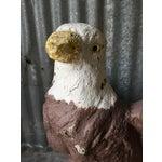 Image of Vintage Concrete Eagle Statue