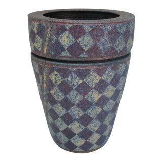 Stoneware Double Vase