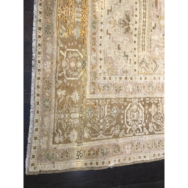 "Bellwether Rugs Vintage Turkish Oushak Rug - 6'10"" x 11'7"" - Image 8 of 8"