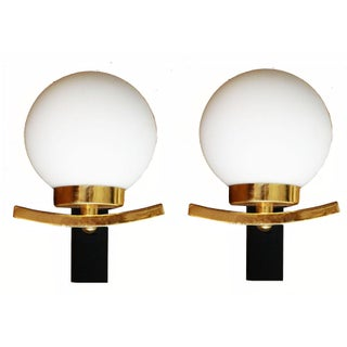 1970's French Sconces - A Pair
