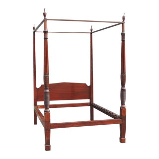Early 19th Century Charleston Mahogany Four-Poster Bed with Tester