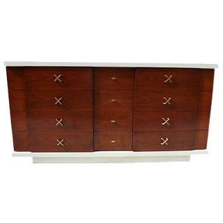 Mid-Century Amber Cherry Dresser by Kent Coffey
