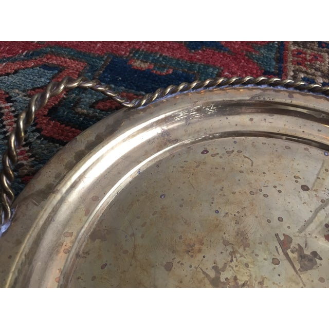 Vintage Brass Tray - Image 4 of 5