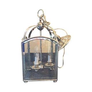 Visual Comfort Arch Top Mini Lantern in Nickel