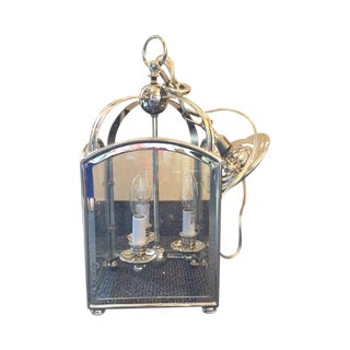 Visual Comfort Arch Top Mini Lantern in Nickel