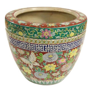 Porcelain Flower Pot