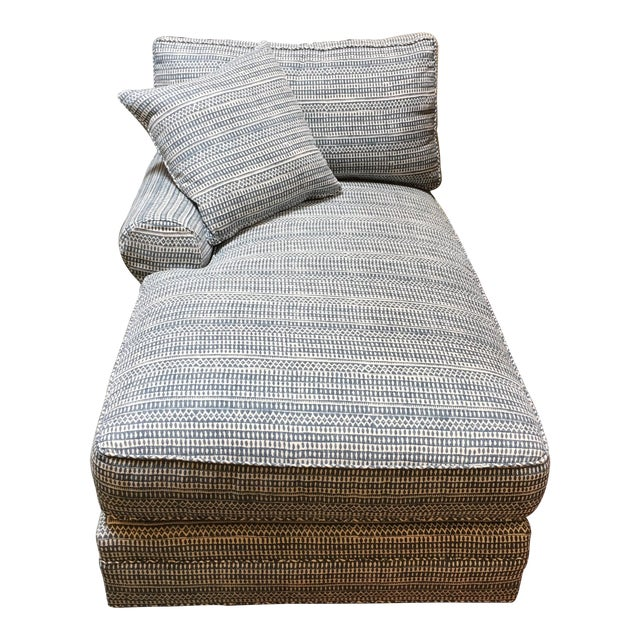 Lee Industries Down & Feather Chaise - Image 1 of 10