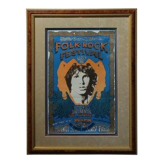 The Doors - 1968 Original Northern California Rock Festival Poster
