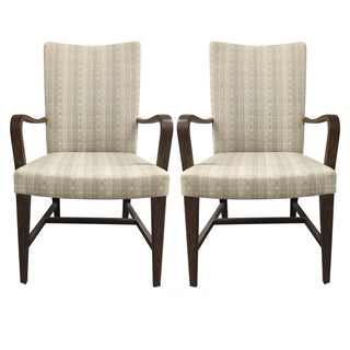 Holly Hunt Siena Side Chairs - A Pair