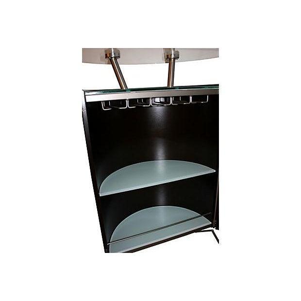 Modern Expanding Bar Cabinet - Image 4 of 5