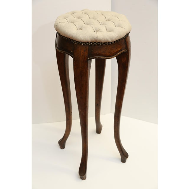 Image of Country French Pedestal Stool