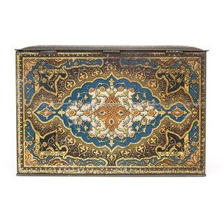 Decorative Painted Tin Box