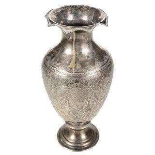 Antique Persian Silver Vase