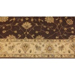 Image of Brown & Tan Floral Zeigler Rug - 9'2' x 12'5""