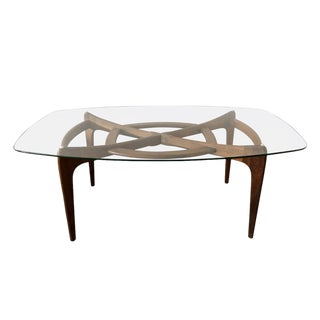 Sculptural Adrian Pearsall Craft Associates Walnut Dining Table