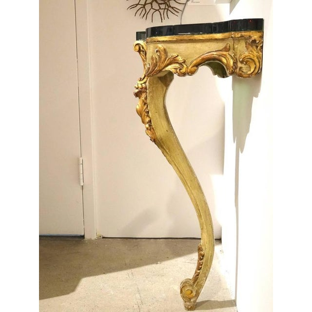 Image of Italian Giltwood and Painted Console