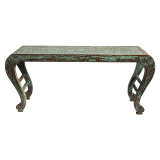 Turquoise Waterfall Altar Table