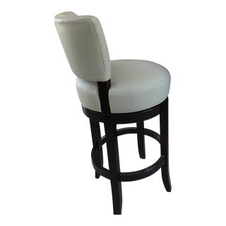 Mahogany Barstools From Charles Stewart- Set Of 3