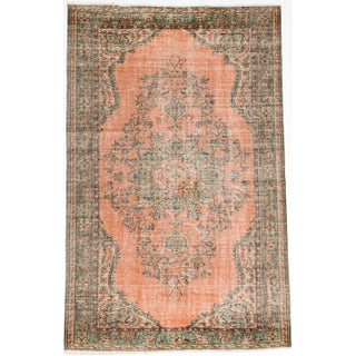 "Melis Vintage Turkish Rug - 5'10"" x 9'5"""